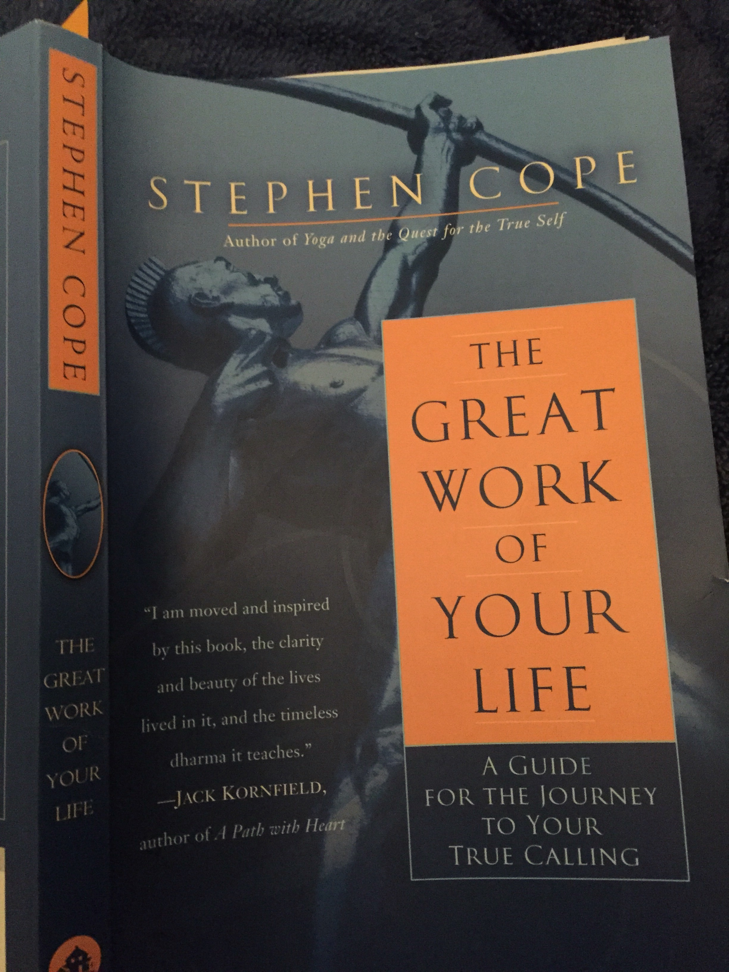stephen cope essay press I must be an active participant in the development of friendship, says kripalu's stephen cope, author of soul friends.