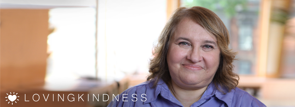 Sharon Salzberg's Street Loving Kindness